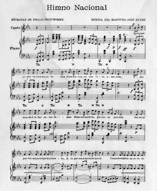 Himno nacional de la República Dominicana - Wikipedia, la ...