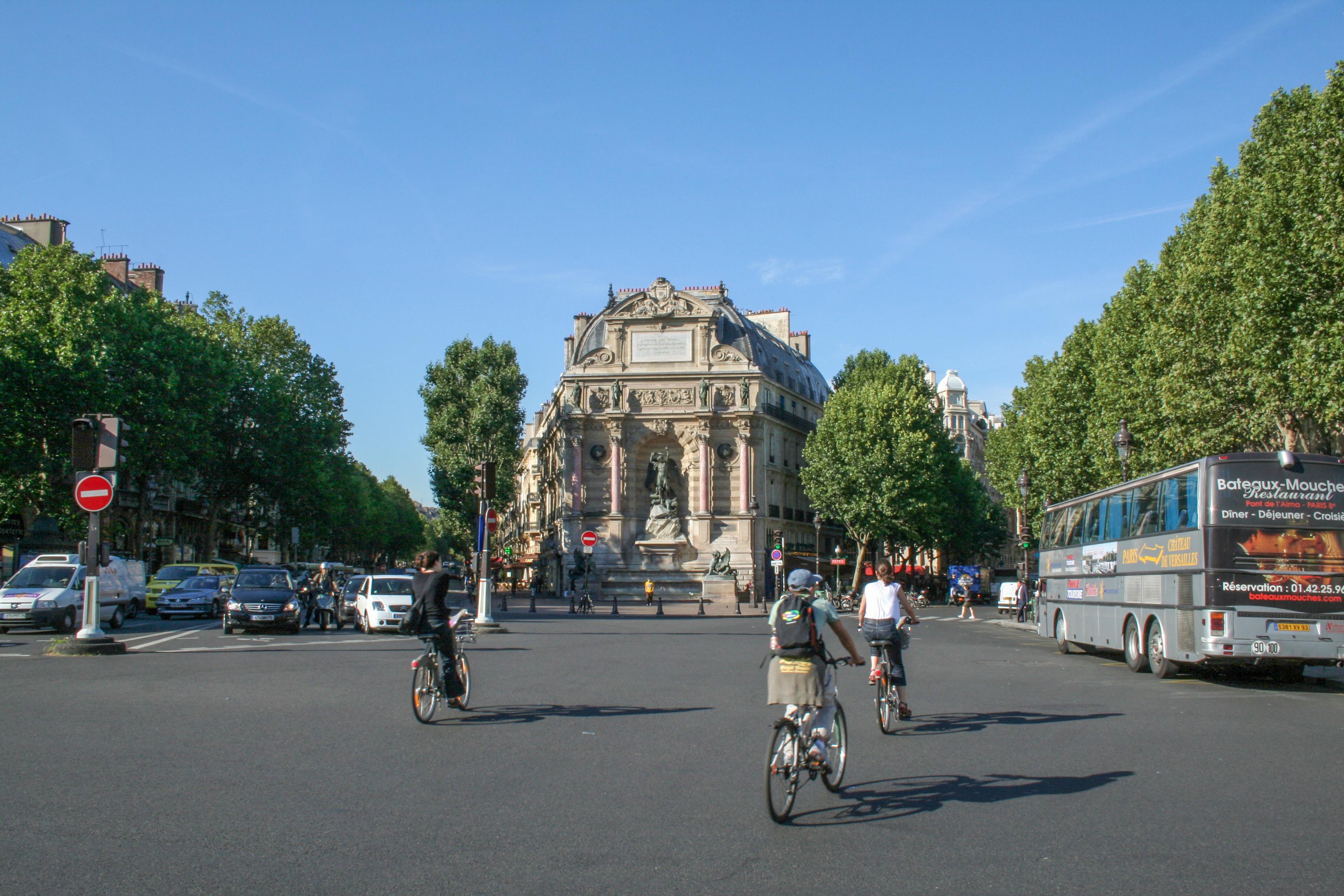 Saint Michel Paris France Saint-michel Paris France