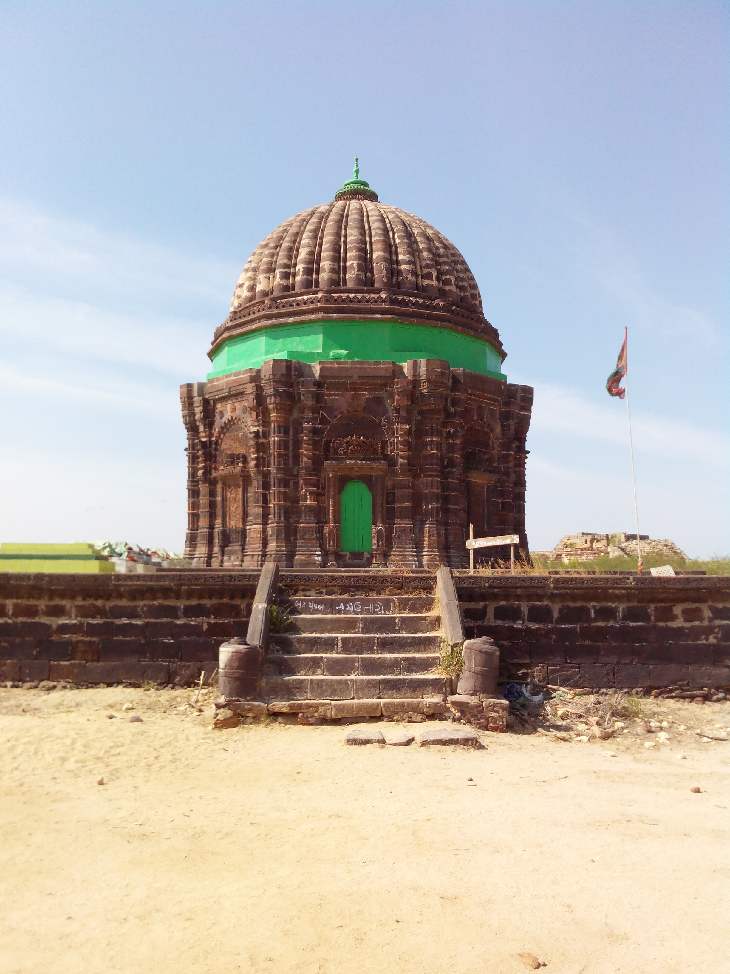 Pir Mohammed Kubo tomb at Lakhpat, Kutch, Gujarat, India