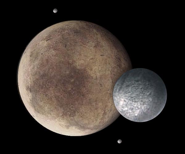 moons around pluto - photo #8