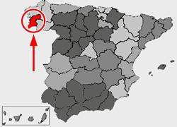 Lag vun der Provënz Pontevedra
