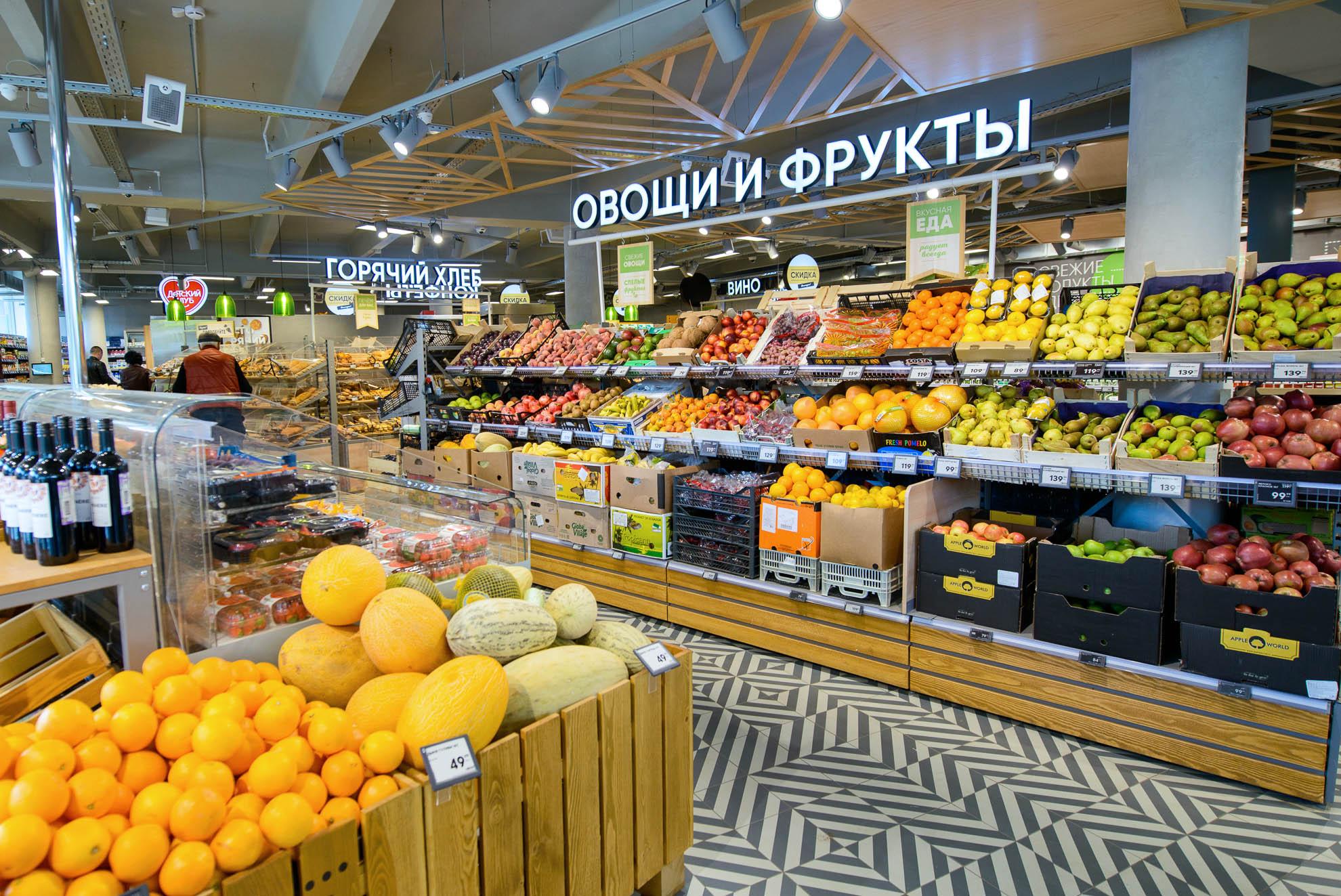 Большие Сети Магазинов Москва