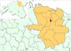 Location of Rakvere