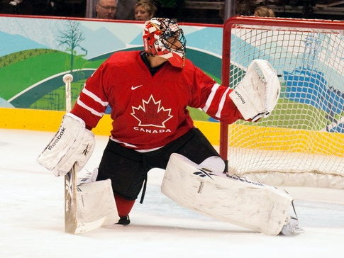 Roberto Luongo Canada 2010a Leafs Canucks Van Provies: So good, everyone is #yawning.