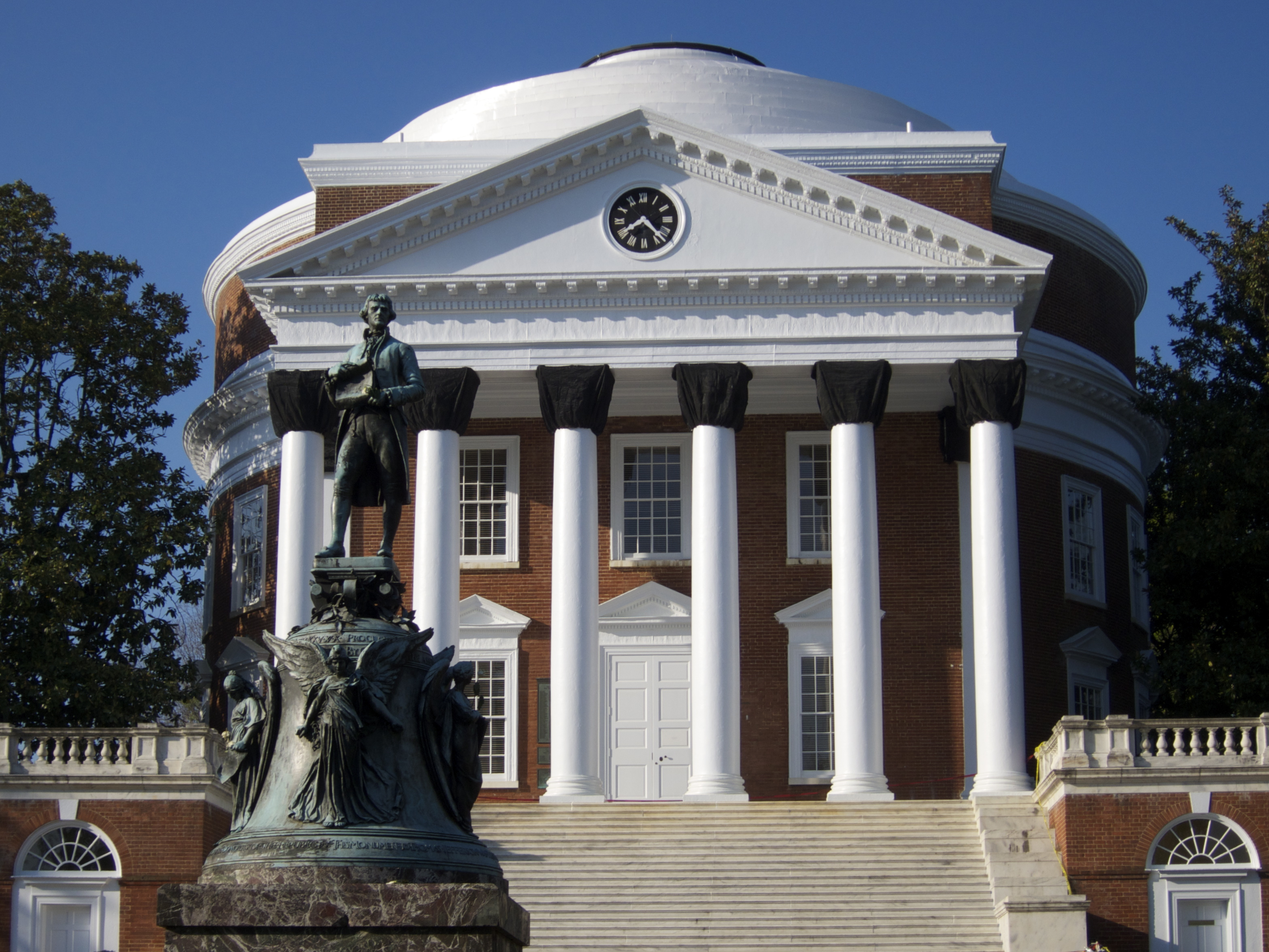 Image result for image of the Rotunda UVA