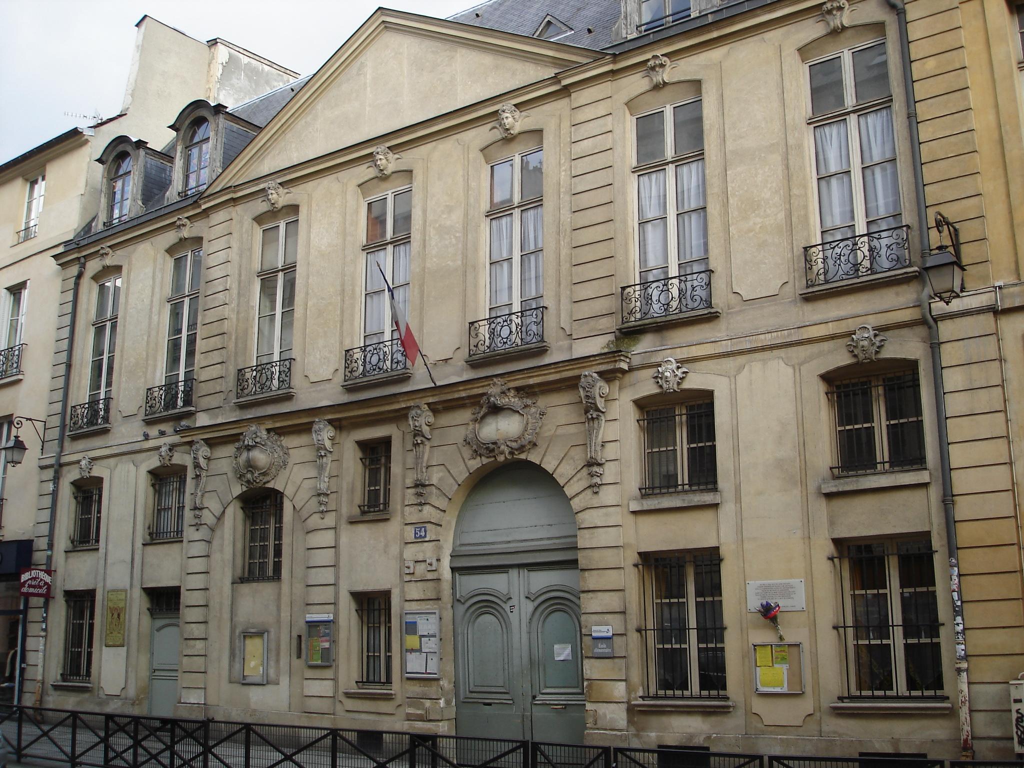 File:Rue Turenne-54-Hotel Gourgues.JPG - Wikimedia Commons