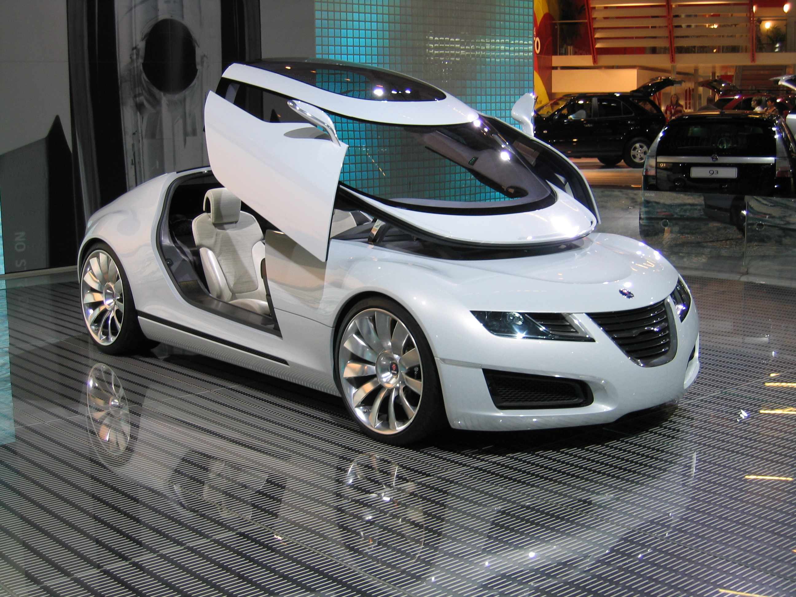 Concept cars in car shows