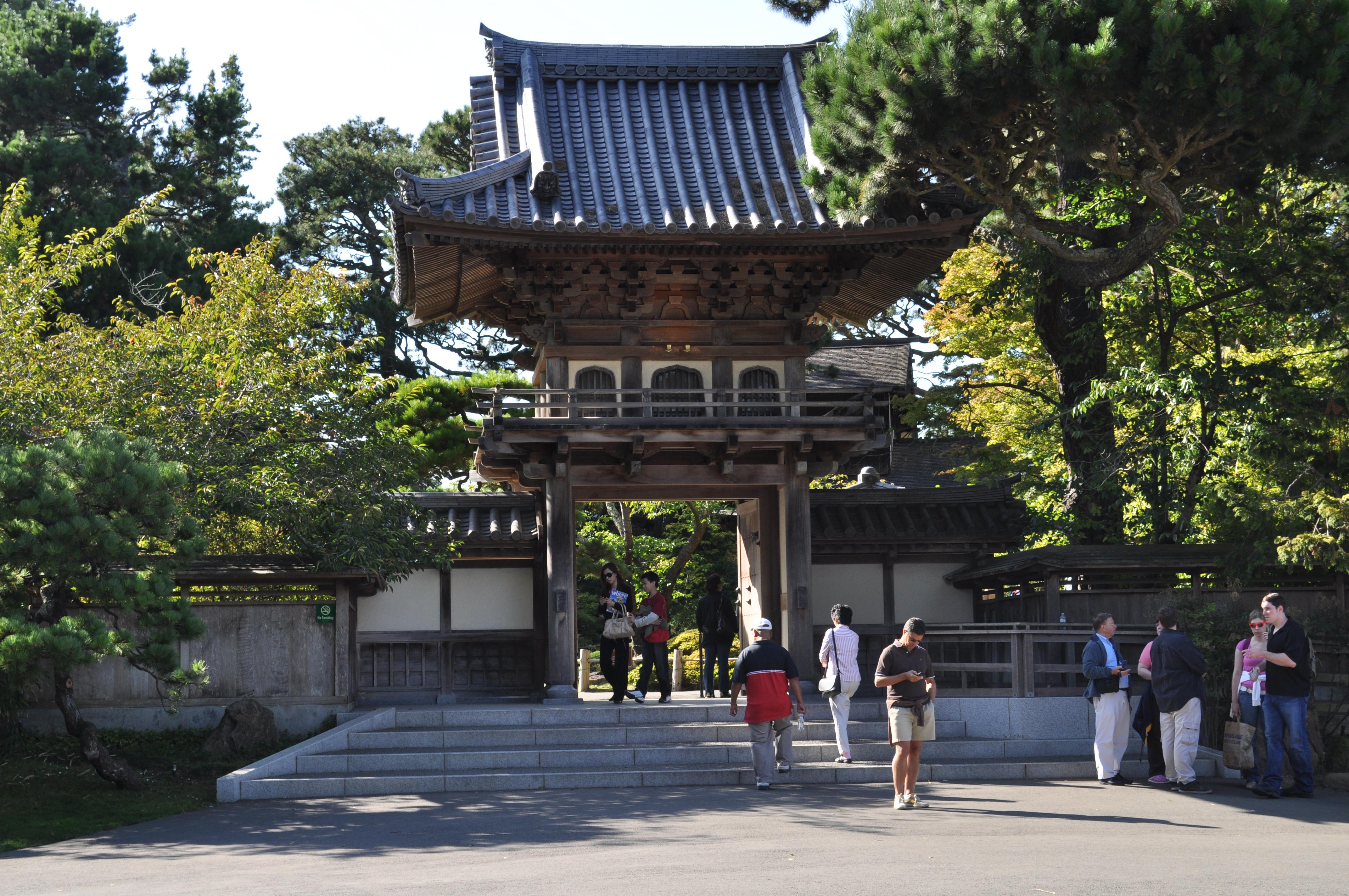 File san francisco japanese tea garden entrance for Japanese garden entrance