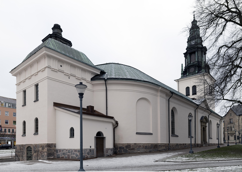Orig. text: S:t Lars kyrka. Linkping. S:t Larskyrkan med