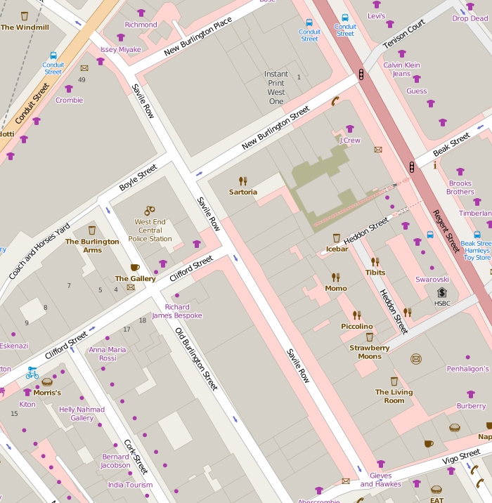 Savile Row Wikipedia