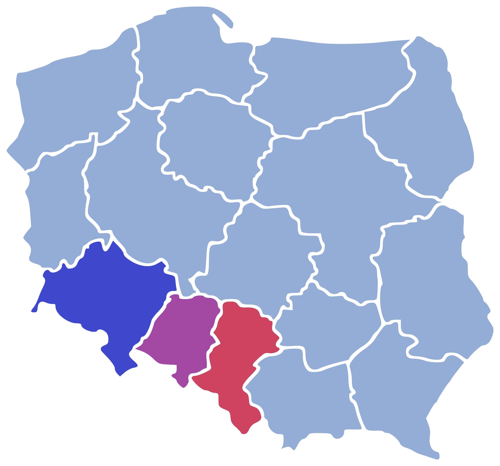 Polen Schlesien Karte.Schlesien Wikipedia