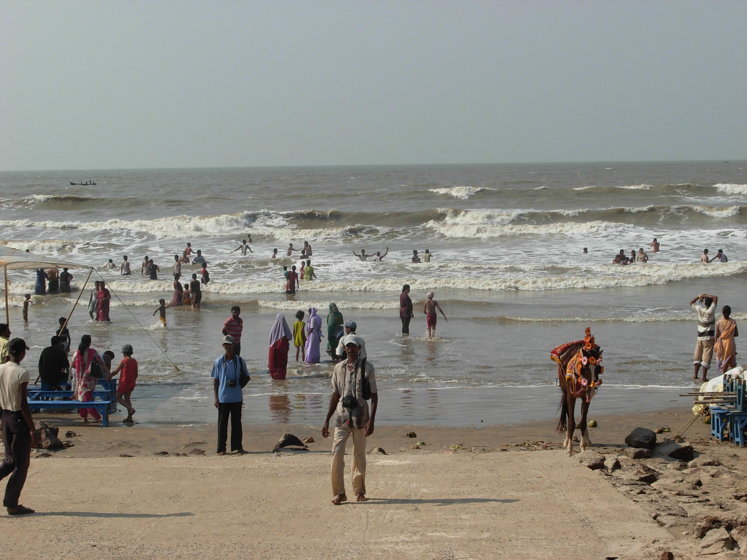 Digha India  city photo : Sea Beatch, New Digha, India Wikimedia Commons