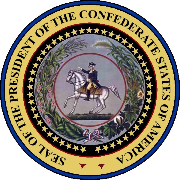 File Seal Of The President Of The Confederate States