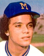 Lezcano with the Milwaukee Brewers