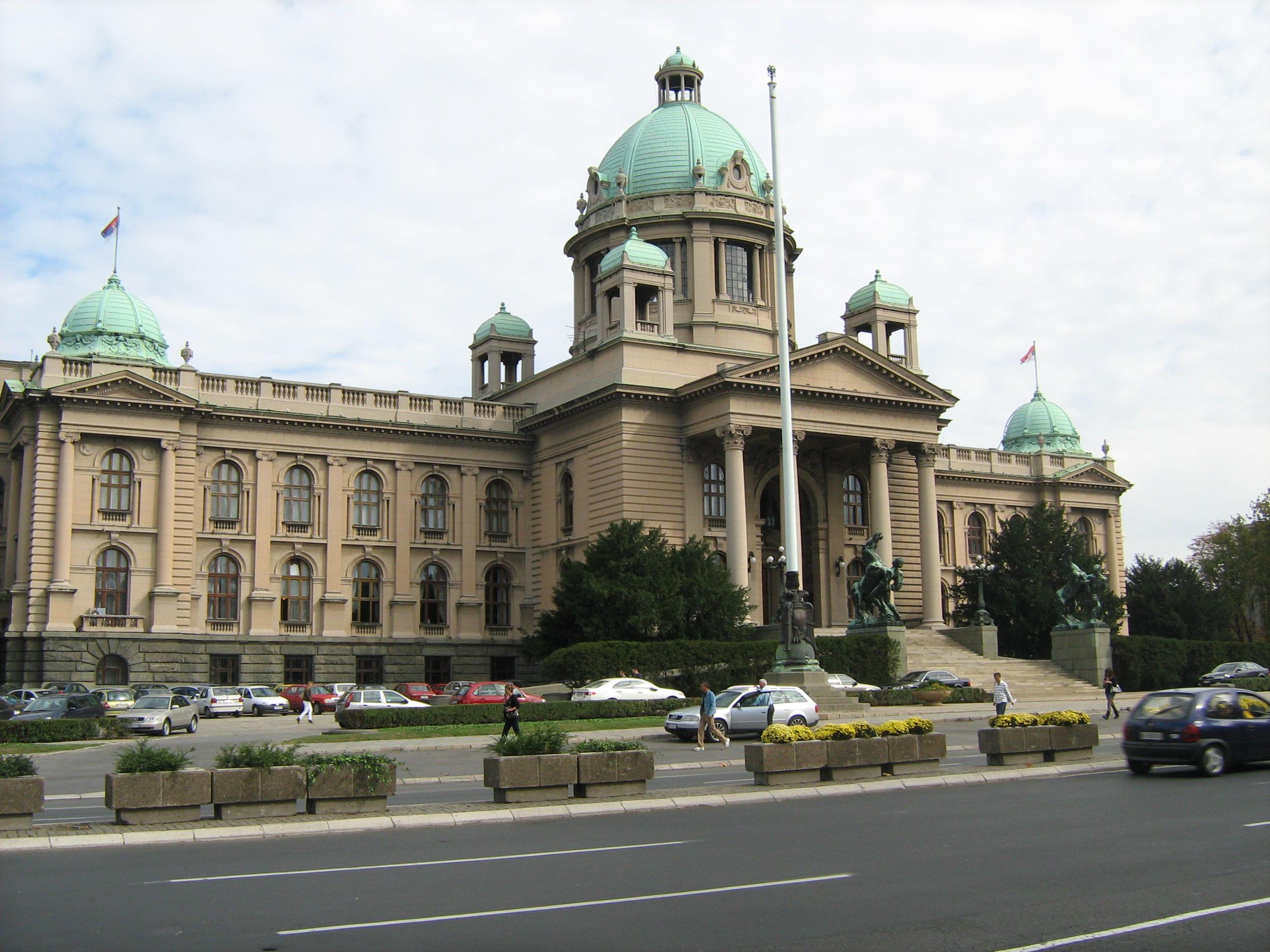 Zanimljivosti o poznatim građevinama Skupstina_Srbije