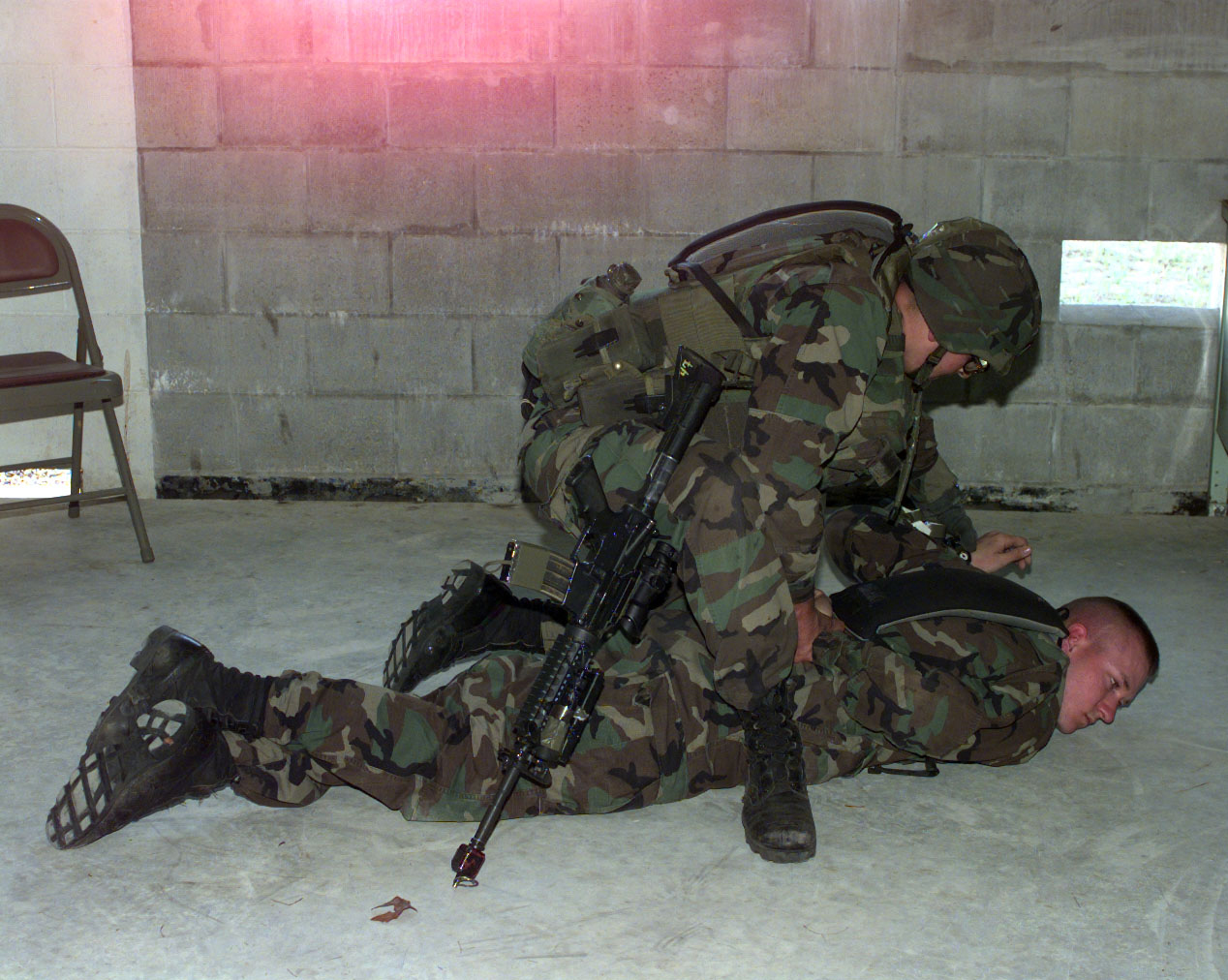 File:Soldiers from 3rd Platoon, B Company, 1st Battalion, 75th Ranger