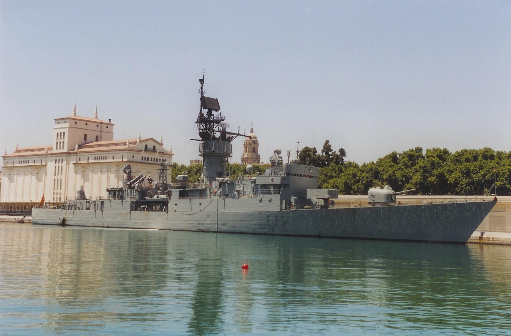 DISEÑO Y CONSTRUCCION DE UNA FRAGATA MEXICANA Spanish_frigate_Baleares_%28F_71%29-01