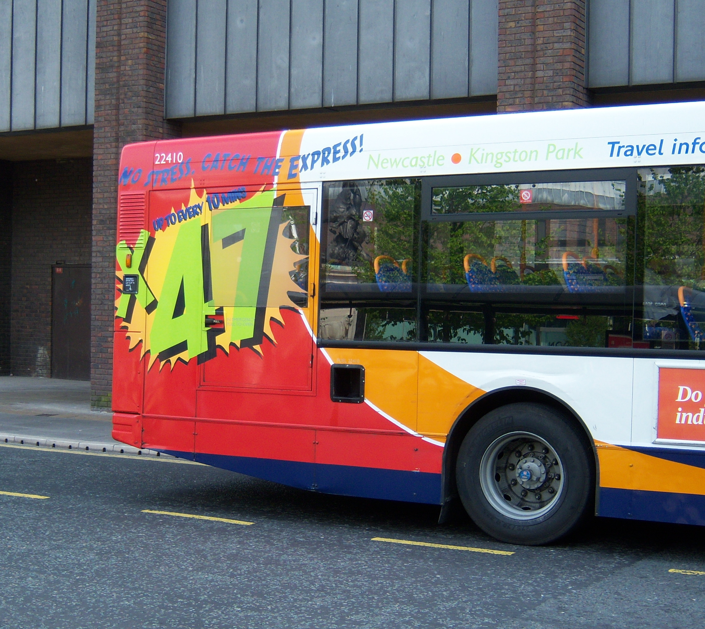 File Stagecoach In Newcastle Bus 22410 Route X47 Branding