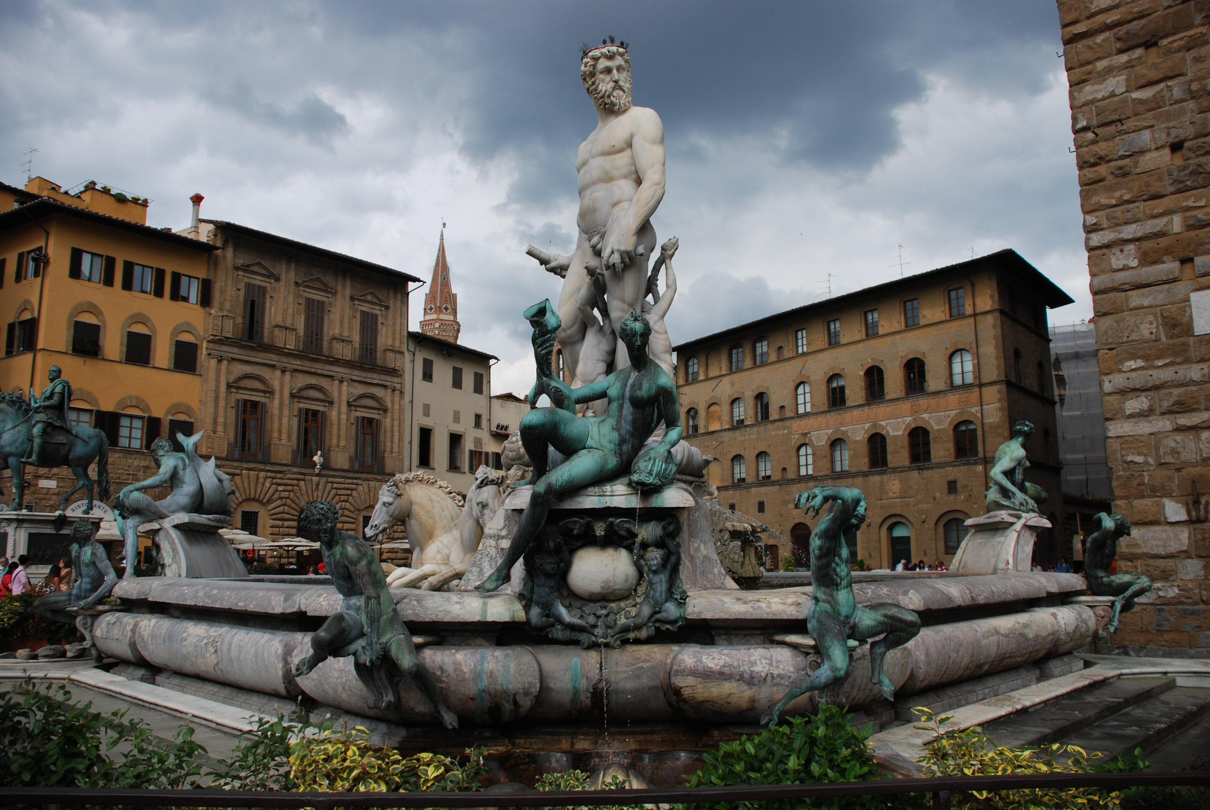 Statue in Florence Italy - Romantic Places in Italy to Visit