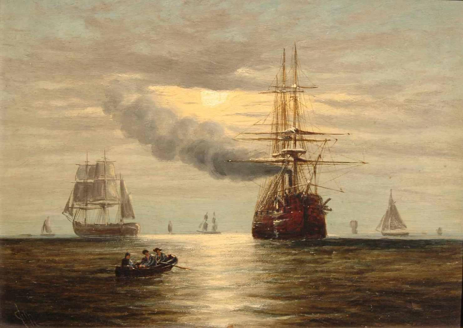 Famous Battleship Paintings