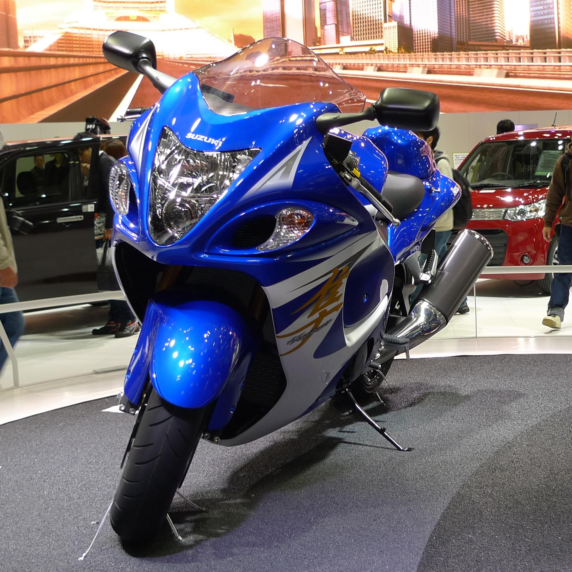 File:Suzuki Hayabusa At Tokyo Motor Show 2013 3