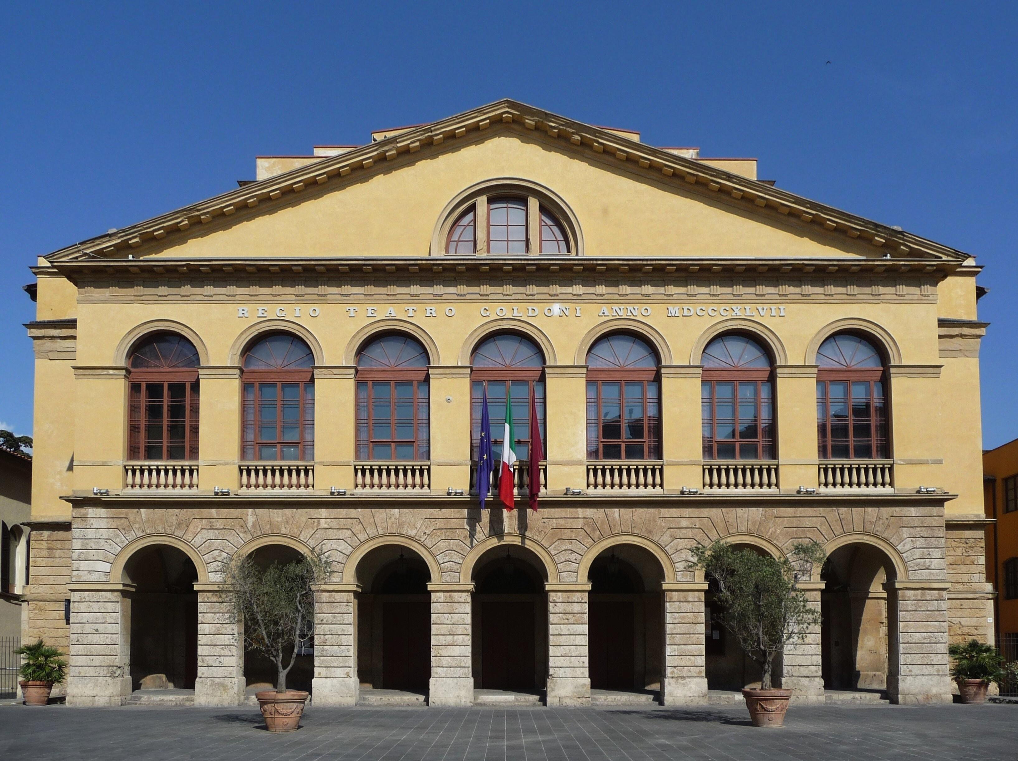 sulle immagini di piedi di cerca il più recente fascino dei costi File:Teatro Goldoni, Livorno.jpg - Wikipedia