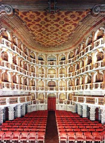 Image result for Teatro del Bibiena mantua