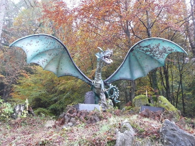 The Dragon in the Enchanted Forest - geograph.org.uk - 1572945