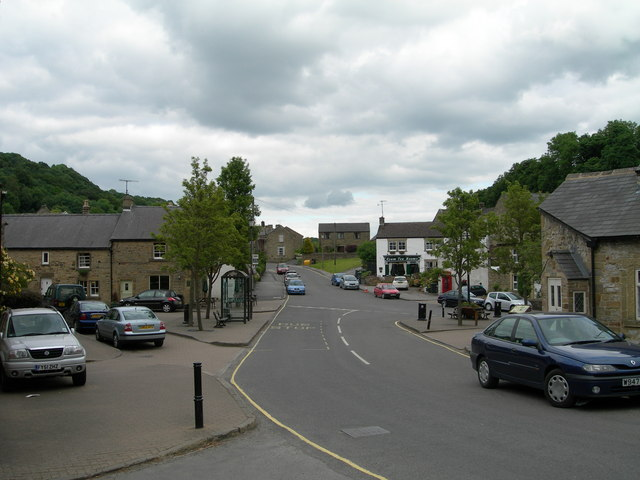 The Square Eyam - geograph.org.uk - 1608156