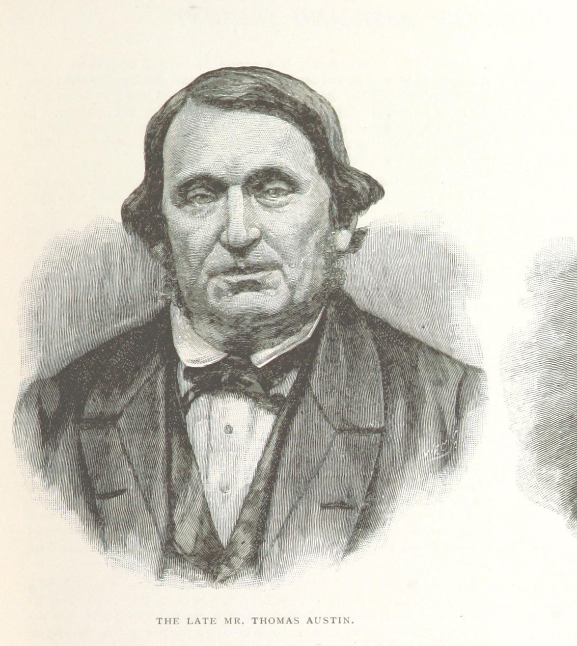 An 1888 illustration of Austin