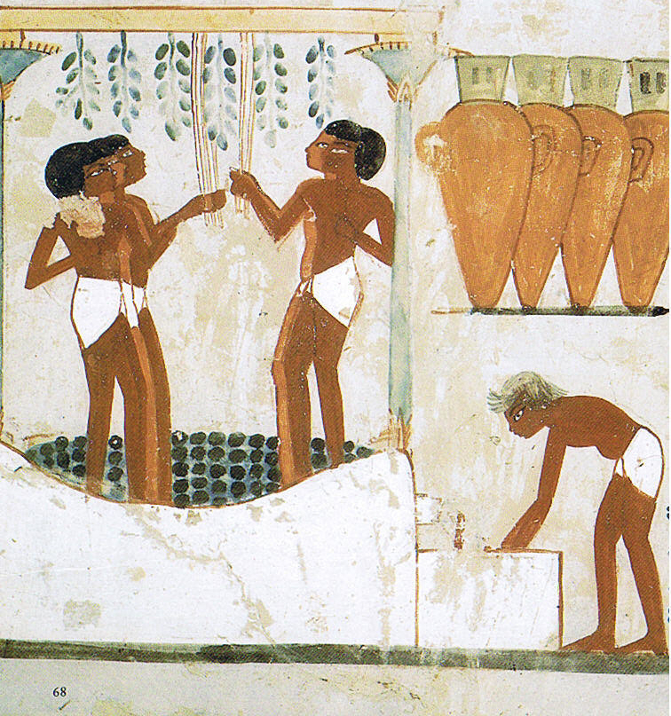 Social Drinking in Egyptian Times