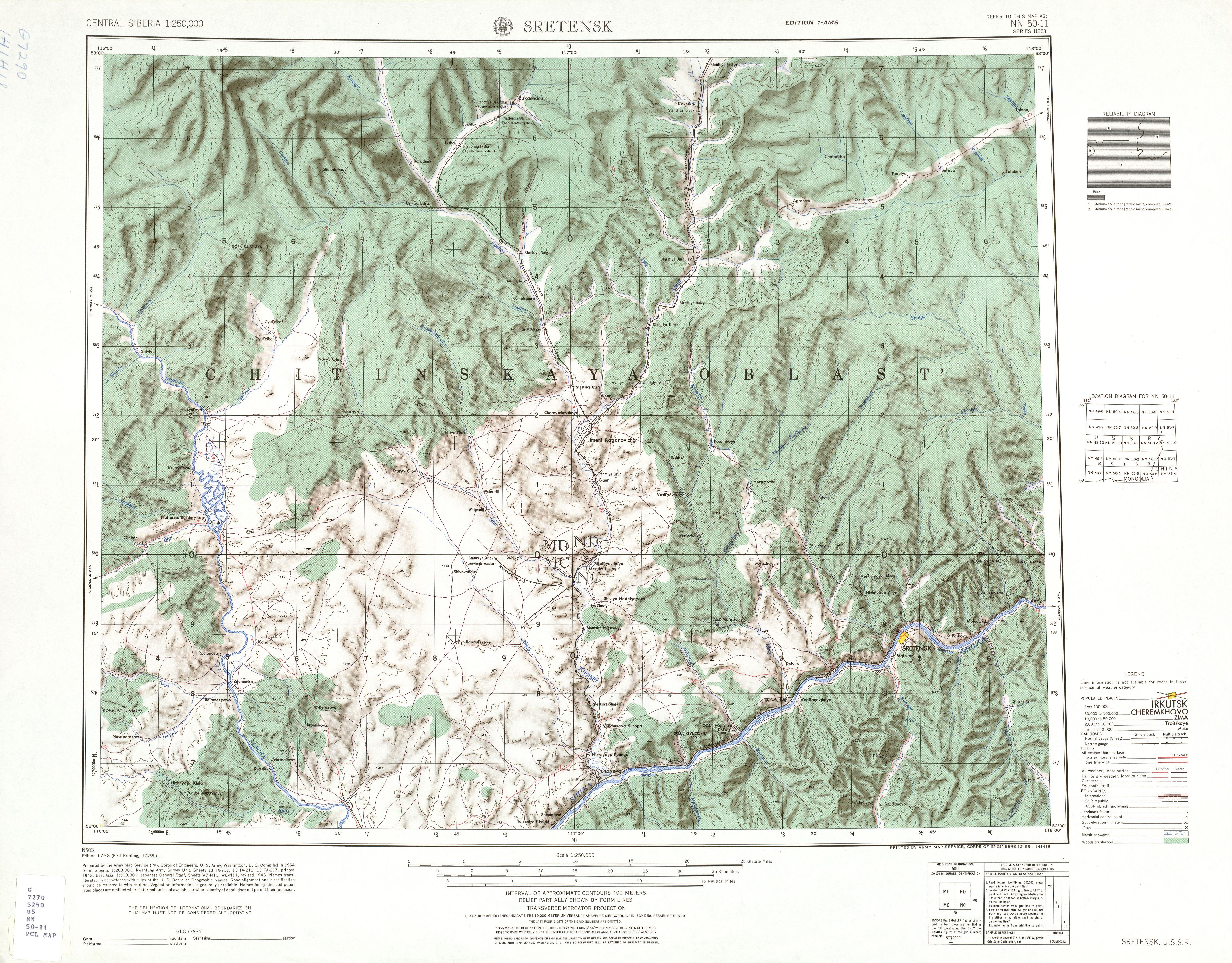 Description USSR map NN 50-11 Sretensk.jpg