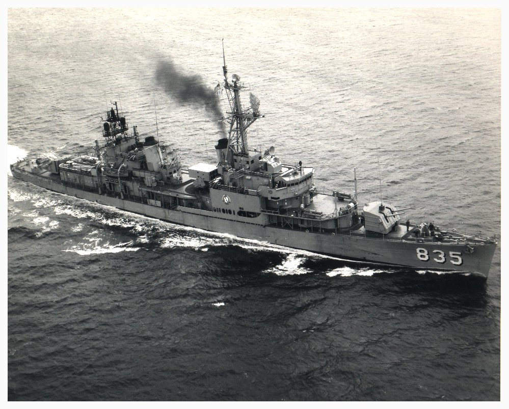 USS Charles P. Cecil, 1971
