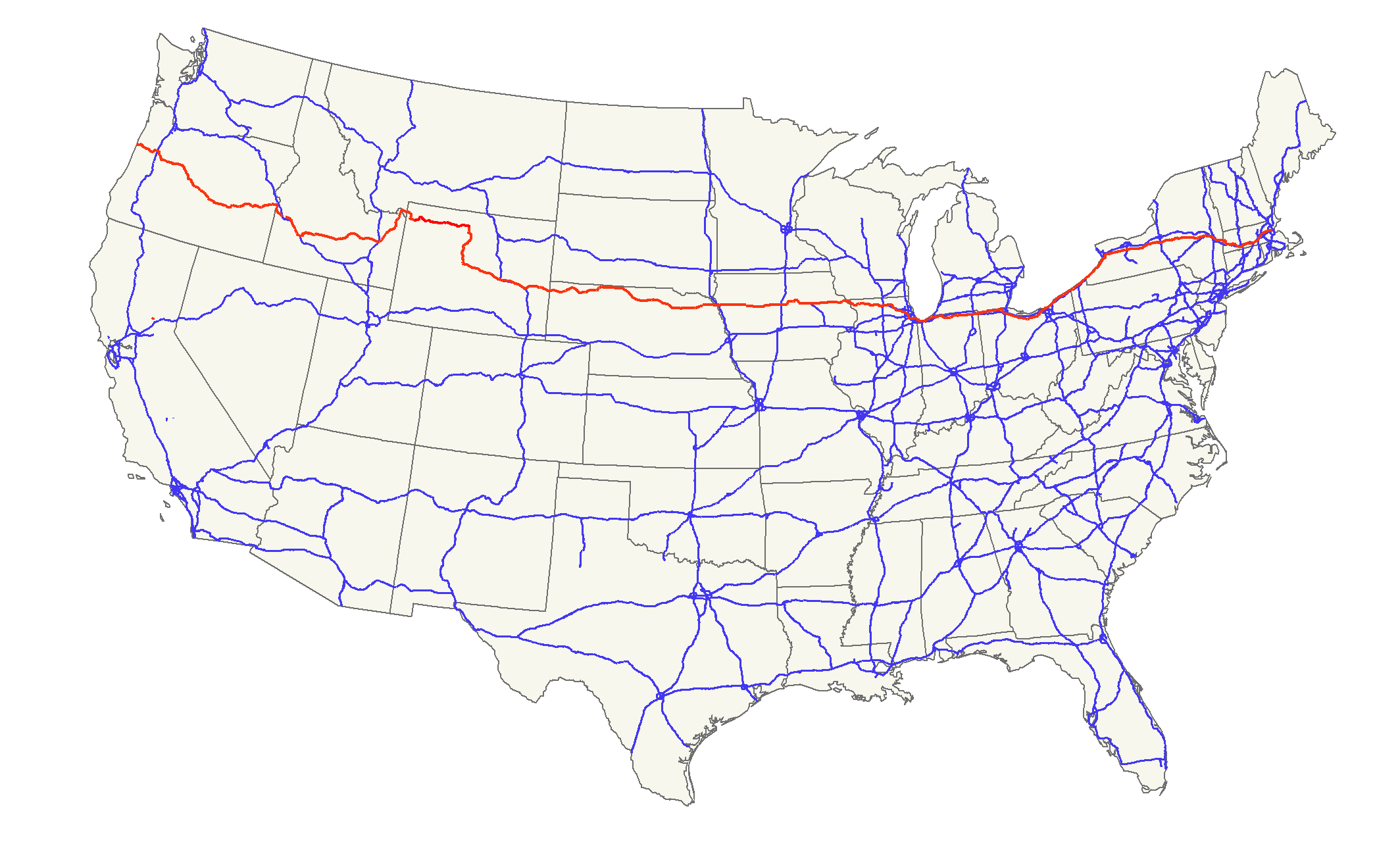 FileUS Mappng Wikimedia Commons - Us highway 30 map