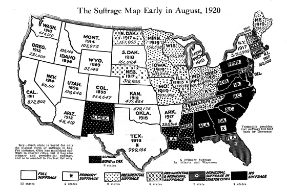 FileUS Suffrage Map Png Wikimedia Commons - Map of us 1920