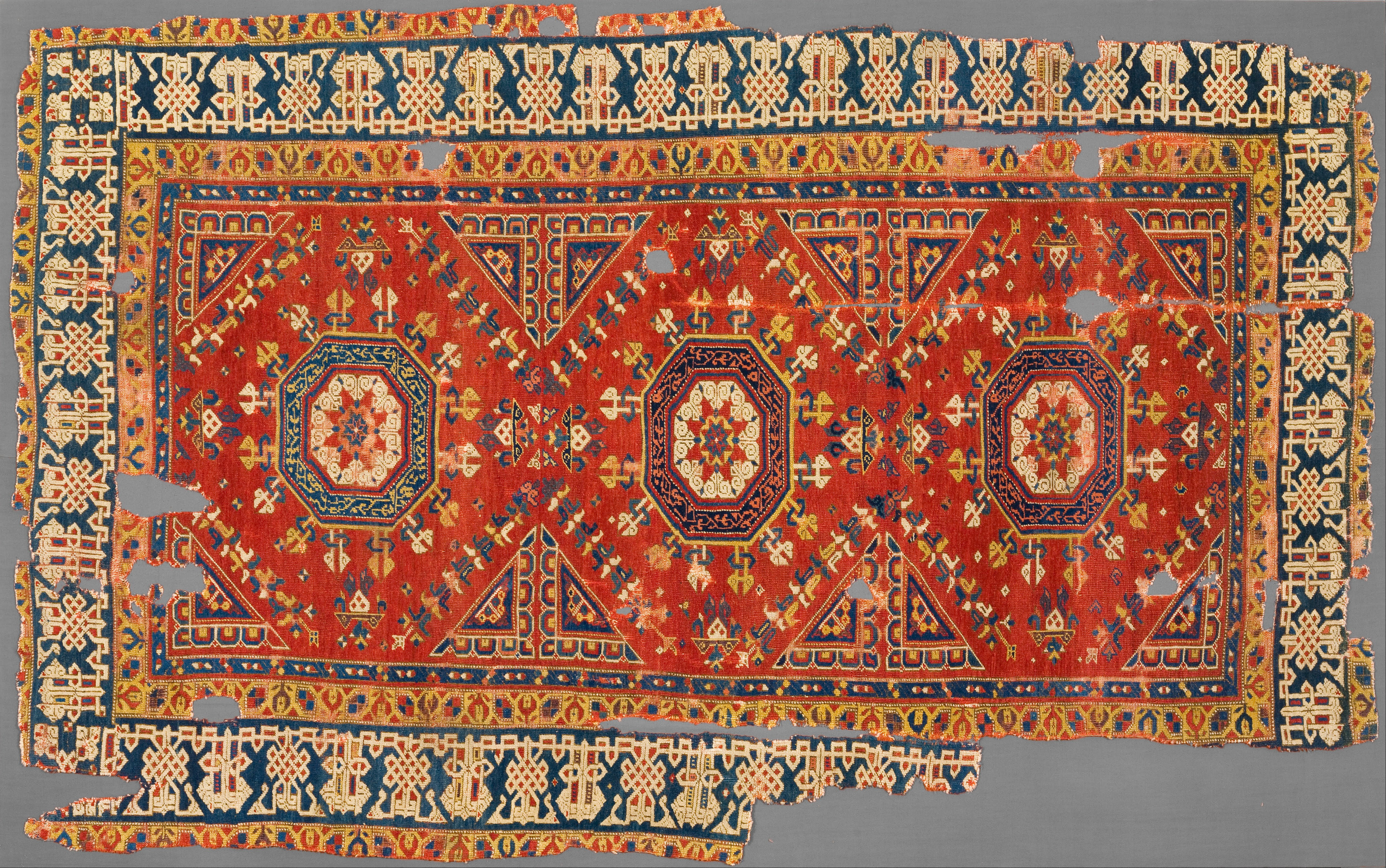 File Unknown Turkey Three Star Holbein Carpet
