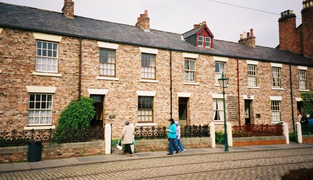 File victorian terrace beamish open air museum geograph for Season 2 terrace house