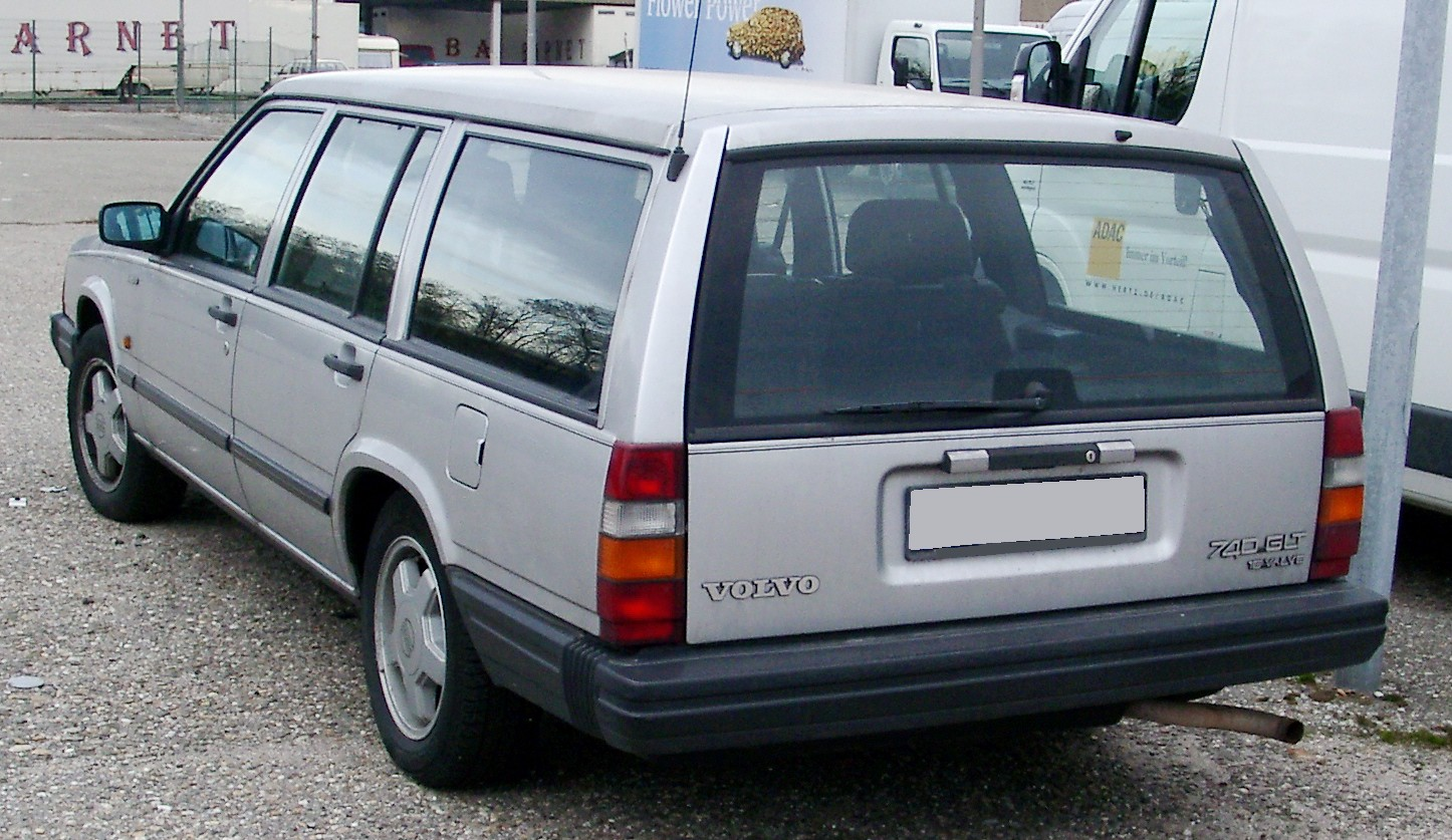 file volvo 740glt kombi rear