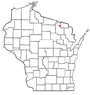 Popple River, Wisconsin Town in Wisconsin, United States