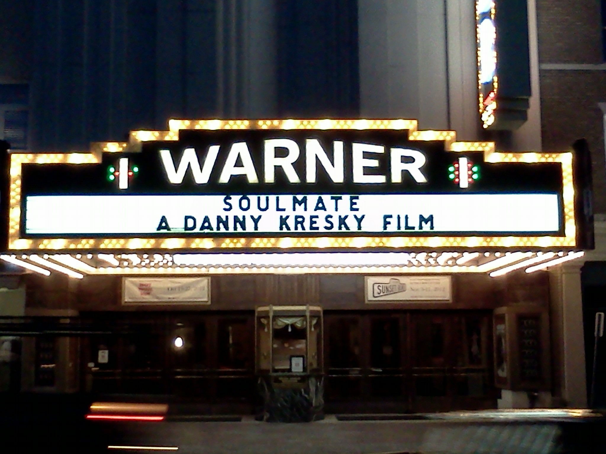 movie marquee template