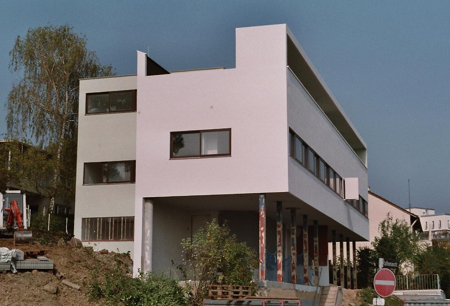 Le corbusier for Villas weissenhofsiedlung