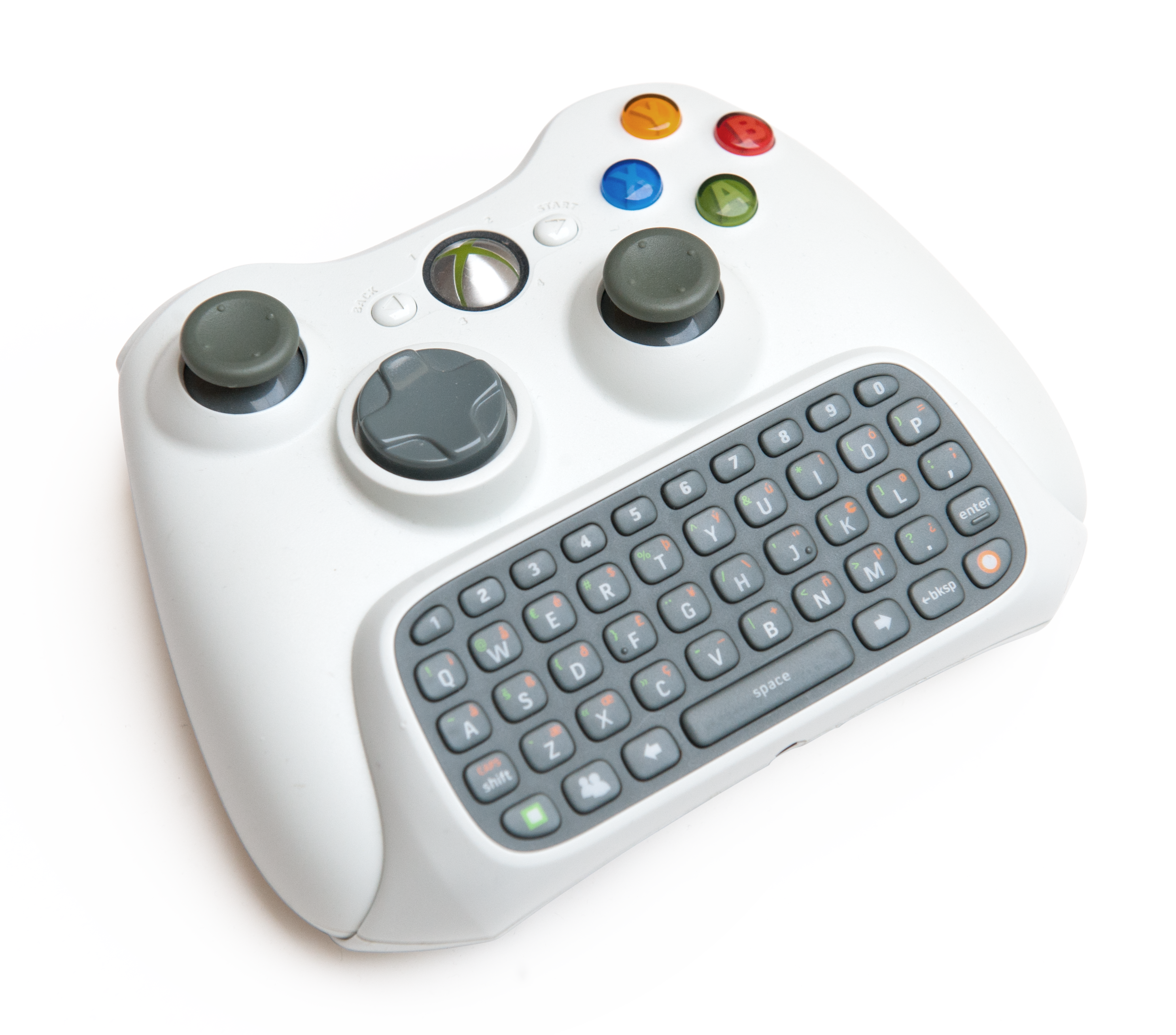 File Xbox 360 Chatpad Controller Png Wikimedia Commons