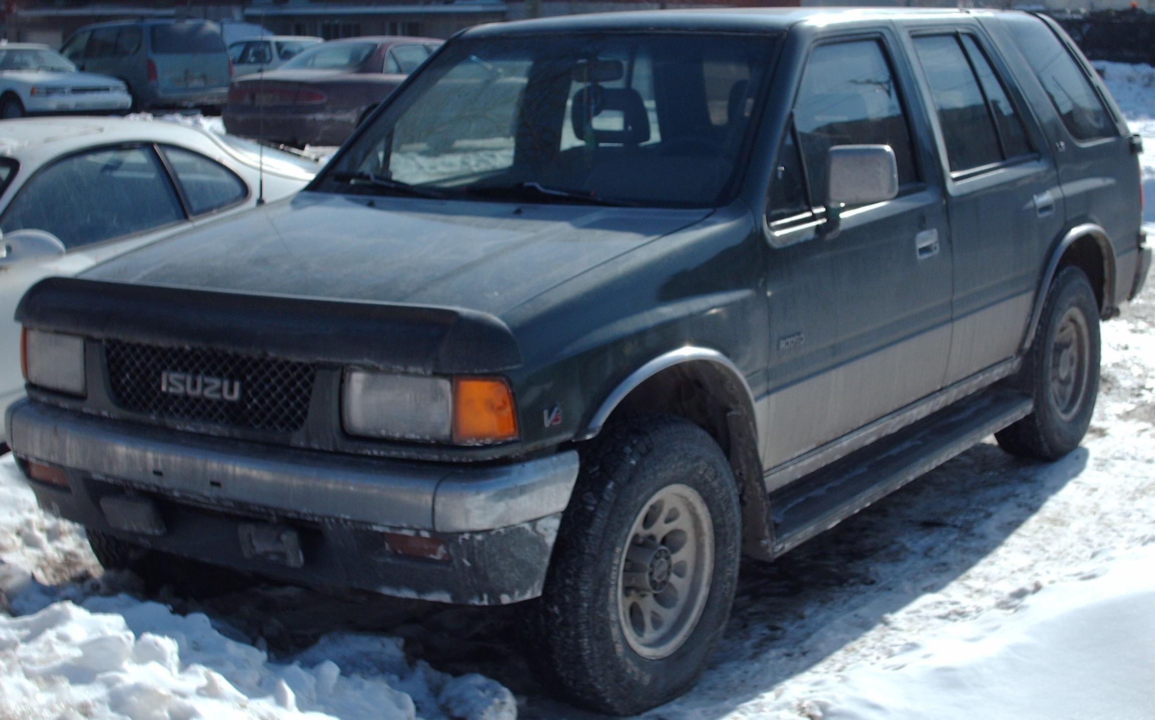 File 94 95 Isuzu Rodeo V6 Jpg Wikimedia Commons