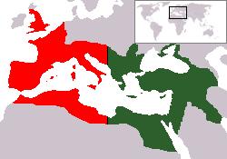 האימפריה הרומית המפוצלת