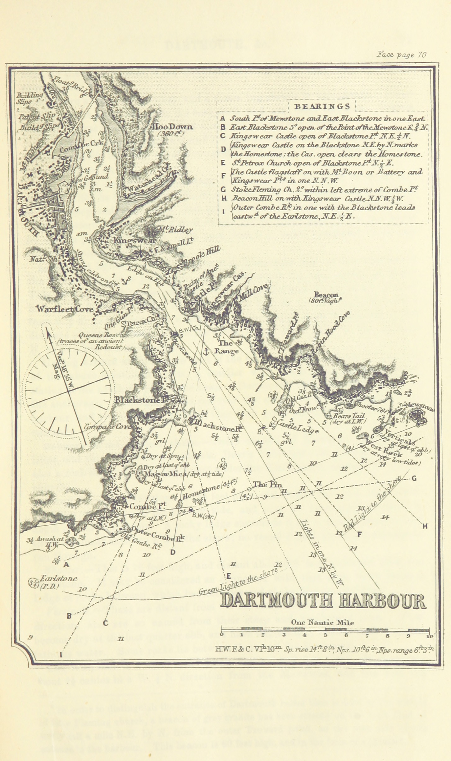 Map Of France North Coast.File 107 Of Sailing Directions For The English Channel Part I The