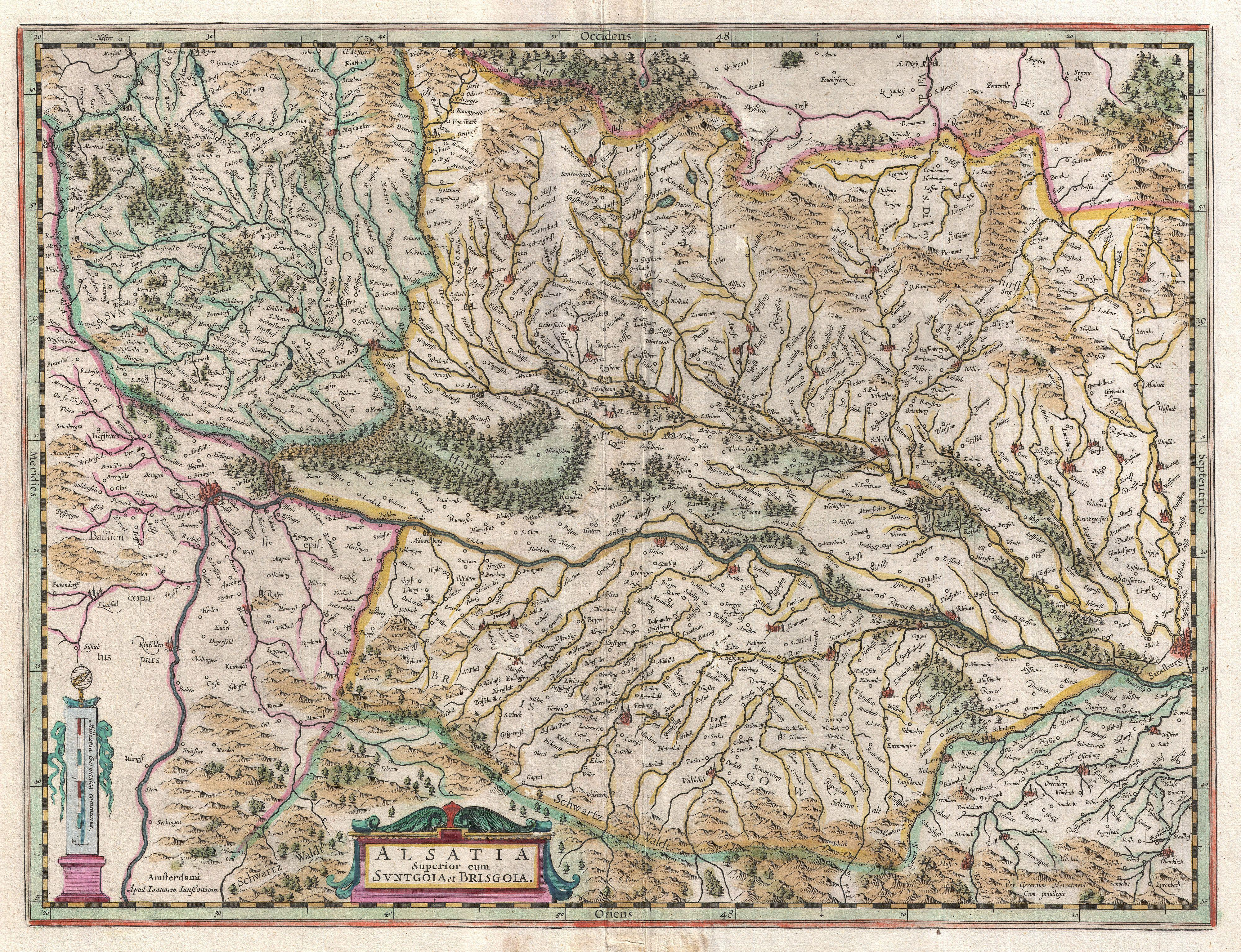 map of us with major cities with File 1644 Jansson Map Of Alsace  Basel And Strasbourg    Geographicus   Alsatiasuperior Jansson 1644 on U S likewise Colima State Mexico Map B0 also File 1644 Jansson Map of Alsace  Basel and Strasbourg    Geographicus   AlsatiaSuperior Jansson 1644 moreover Road Map in addition Skopje.