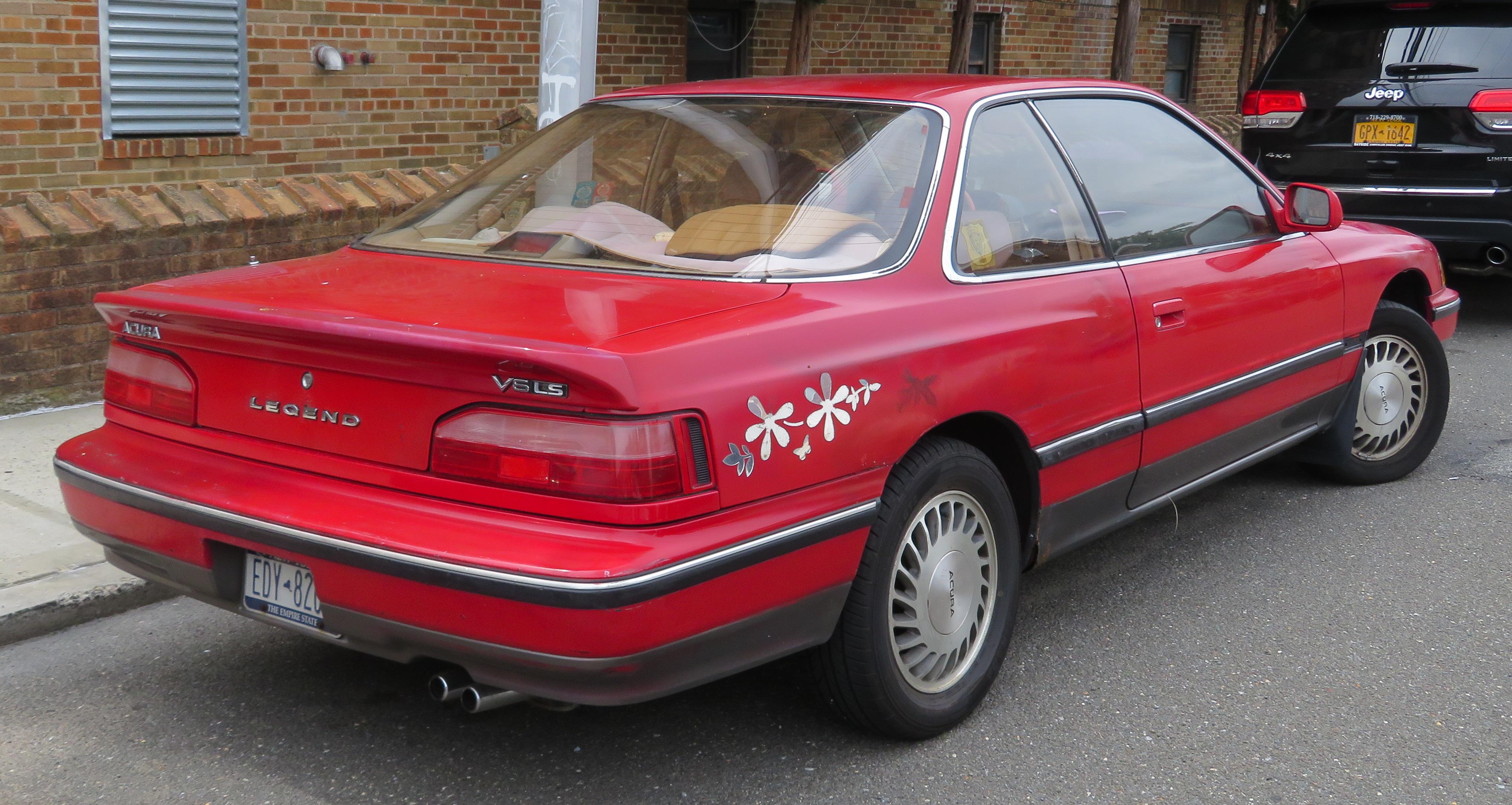 1990 Acura Legend >> File 1990 Acura Legend Coupe 2013 9 9 Jpg Wikimedia Commons
