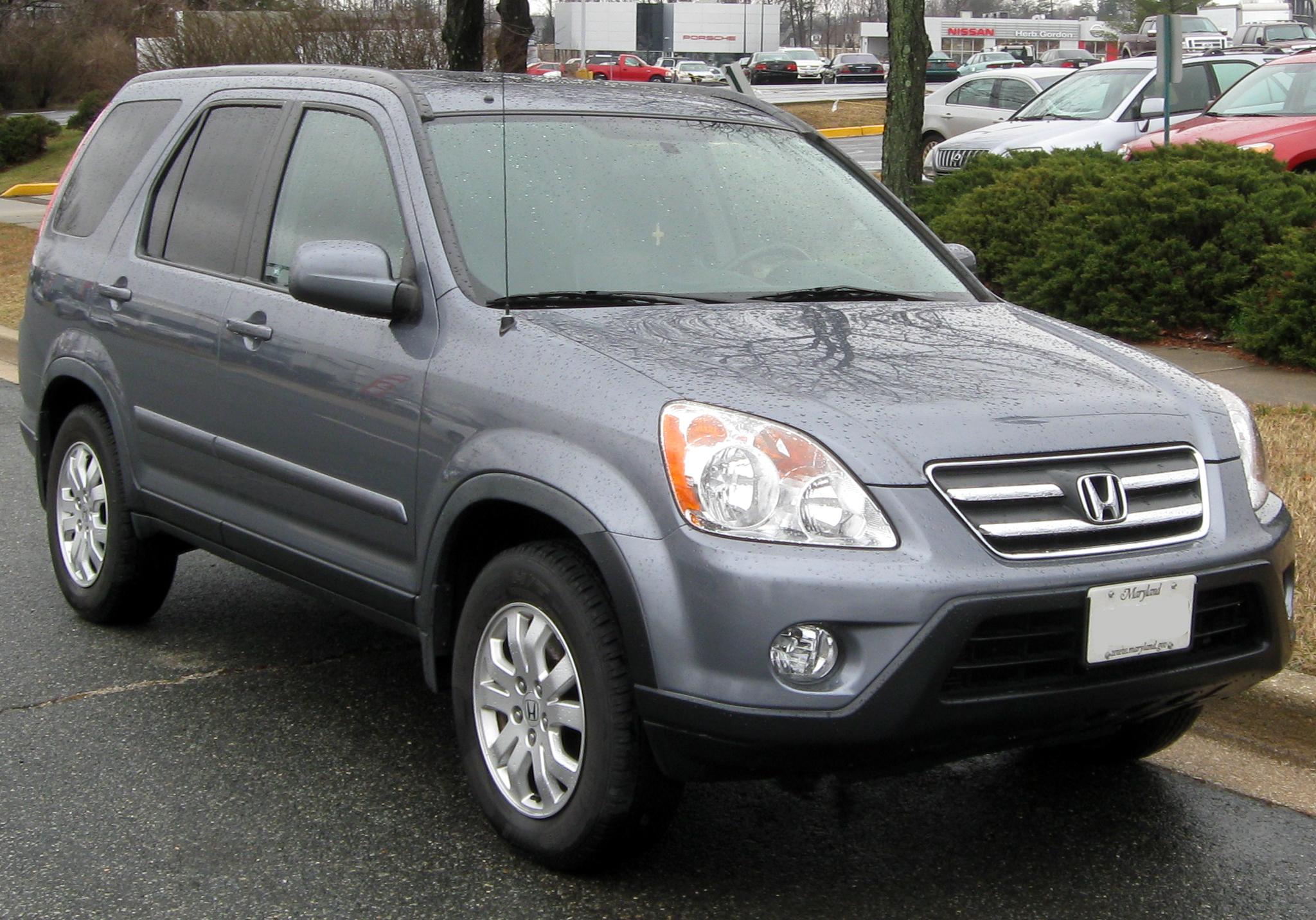 File 2005-2006 Honda Cr-v
