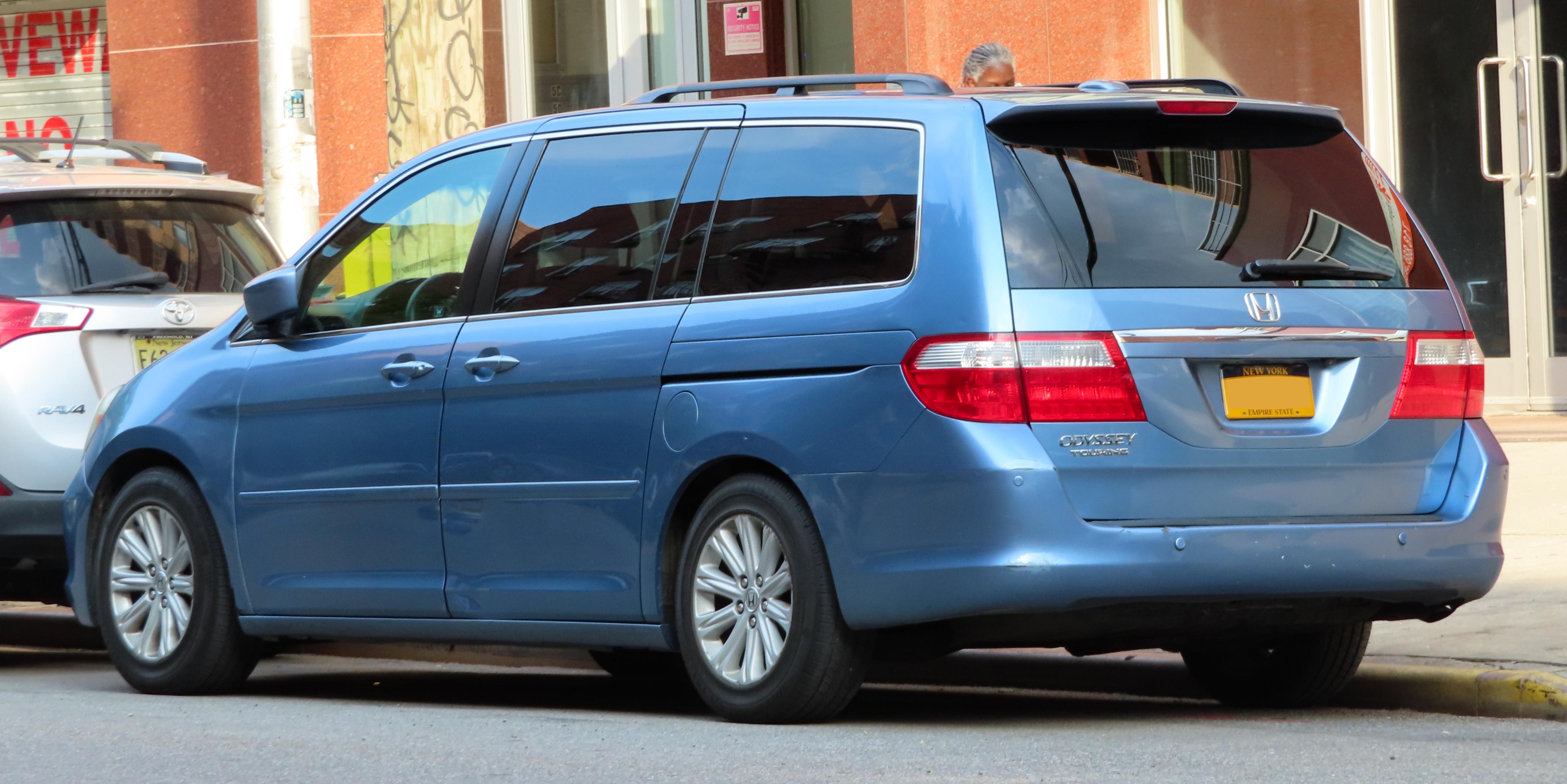 Plik:2006 Honda Odyssey Touring 3.5L, rear 5.31.19.jpg ...