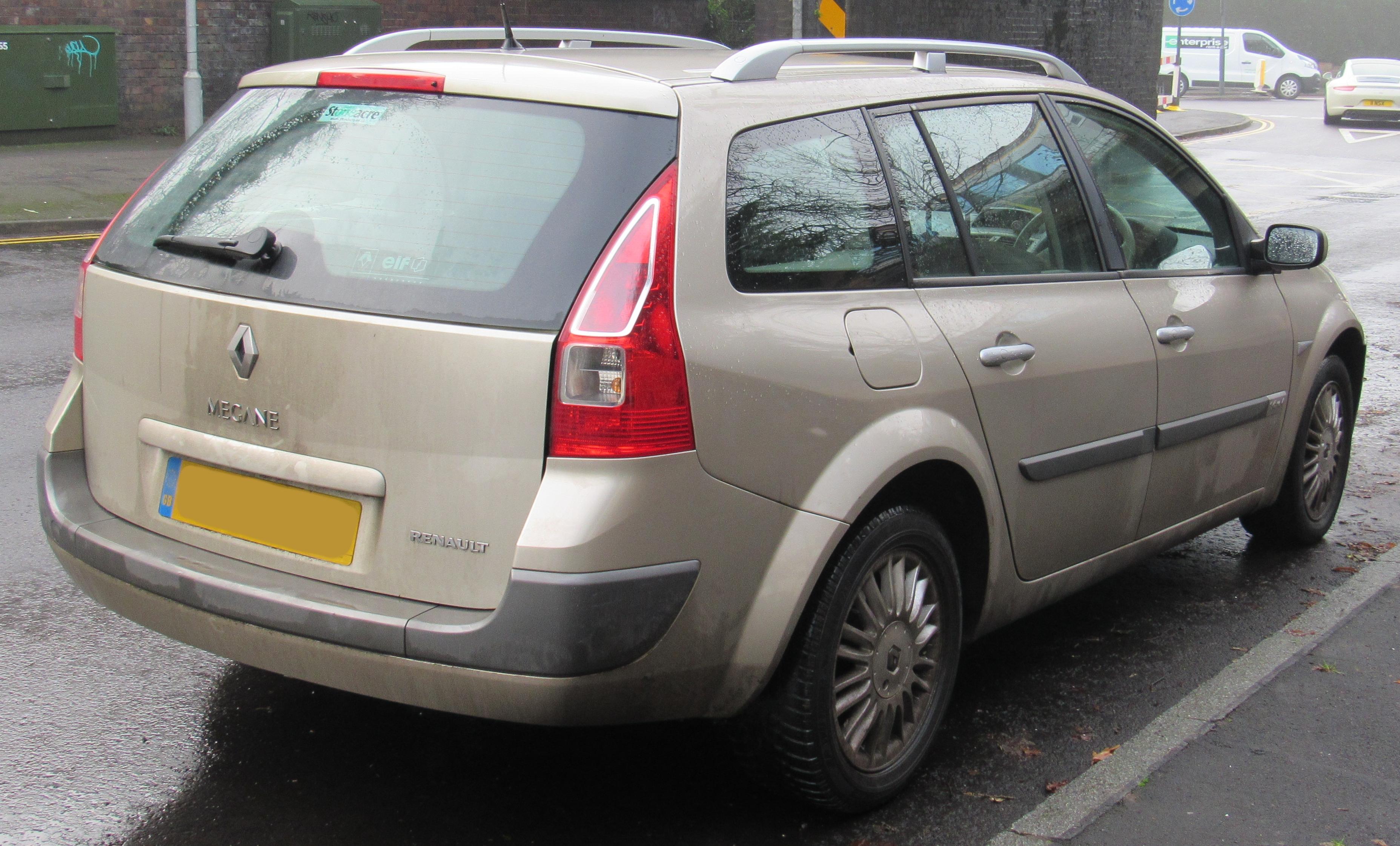 Masywnie File:2006 Renault Megane Privilege Estate Automatic facelift 1.6 ZF09
